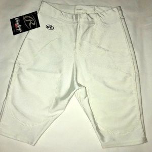 Rawlings Football Girdle Youth Size XL White BS5P0